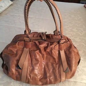 Francesco Biasia Satchel Italian Leather NWOT